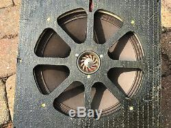 Super rare CELESTION 10 Alnico co-axial dual concentric vintage speakers