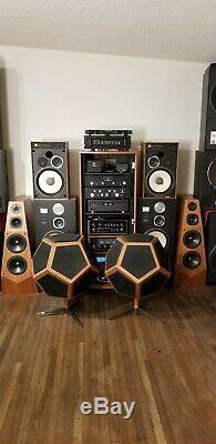 Super rare design acoustics D12 vintage Speakers