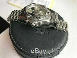 TAG Heuer Super 2000 SS Chronograph Big Six Star RARE Vintage 38 mm