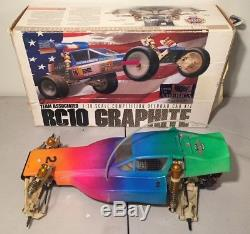 TEAM ASSOCIATED RC10 GRAPHITE #6025 VINTAGE (c. 1989) With BOX BODY SUPER RARE