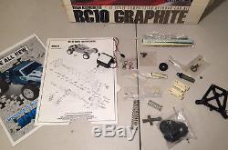 TEAM ASSOCIATED RC10 GRAPHITE #6025 VINTAGE (c. 1989) With BOX BODY SUPER RARE