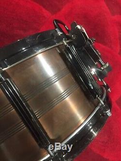 Tama Pro Custom Copper 6.5x14 Snare Drum Super Rare 1980s Vintage