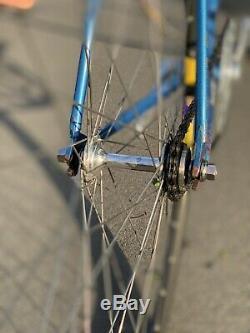 Tommasini Racing Pista Bike. Vintage Rare Framset + Campagnolo Super Record