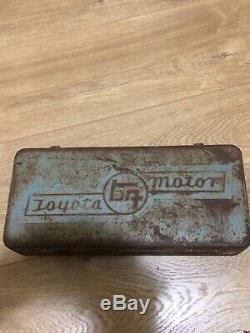 Toyota Toolbox Super Rare Ke70 Landcruiser Trd Vintage Collecters Item