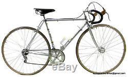 ULTRA RARE COLLECTORS 60S Vintage STEEL CINELLI SUPER CORSA CAMPAGNOLO Race Bike