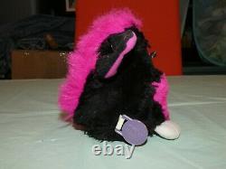 VTG 1999 ORGINAL Tiger FURBY BABIES Black and Pink 70-800 WORKS! SUPER RARE