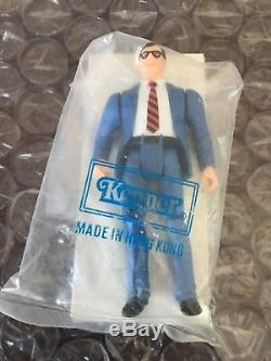 VTG SUPERMAN CLARK KENT Super Powers Mail in away ACTION FIGURE RARE WITH BOX
