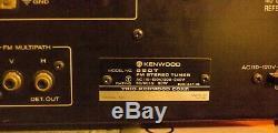 VTG Super RARE Kenwood 650T Tuner Match for 650 Amplifier