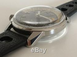 Very Rare Vintage Enicar Sherpa Super Jet 33 GMT Cal AR1126