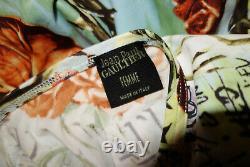 Very Rare Vintage Jean Paul Gaultier 1998 Frida Kahlo Blouse Top IT48 F42 UK14