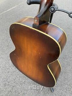 Vintage 1934 Kay Wood Amplifying Guitar Estate Find With Case Super Rare