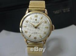 Vintage 1954 SEIKO mechanical watch SUPER 14KGF/SS, Rare dial