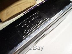 Vintage 1960's nos Chrome auto dash Tissue box tray service gm street rat rod