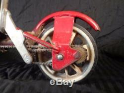 Vintage 1970's HONDA Kick N Go 3 Wheel Scooter RED SUPER CLEAN Works RARE FIND