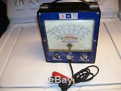 Vintage 70s DELCO Engine tune-up tester meter auto service gm street rat hot rod