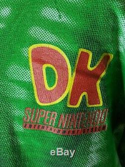Vintage 90s Donkey Kong Country Super Nintendo All Over Print T-Shirt L/XL Rare