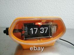Vintage Alarm Flip Clock Made in Japan. Super rare