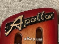 Vintage Apollo Guitar Super Cougar 2219 Electric Guitar Japan Matsumoku Rare MIJ