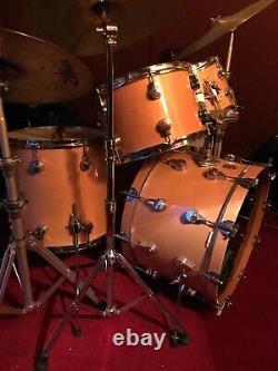 Vintage CAMCO Hoshino Drum Shellset 1979 Super Rare. Tama