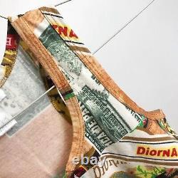Vintage Dior Rare Spring/Summer 2002 Printed Tank Top