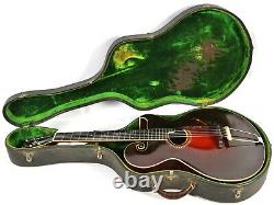 Vintage Gibson Style O Archtop Acoustic Guitar Original Case Super Rare 1920/21
