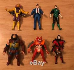 Vintage Kenner DC Comics Super Powers Figure Lot of 6 Rare Figures! 1984-1986