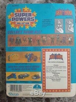 Vintage Kenner Super Powers BATMAN 1984 Factory Sealed 12 Back RARE