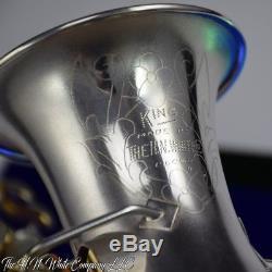 Vintage King H. N. White Curved Soprano Saxophone Super Rare