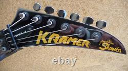 Vintage Kramer American Showster Savant II 1988-89 Guitar Super Rare Nice Red