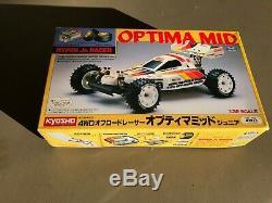 Vintage Kyosho Marui Optima Mid Hyper Jr. Racer NIP SUPER RARE