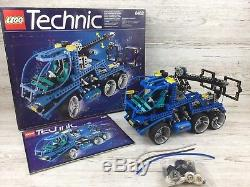 Vintage Lego Technic Set 8462 Super Tow Truck (Very Rare) 100% Complete