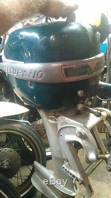 Vintage Mercury Kh7 Outboard Motor engine rare hard to find super 10 cruiser