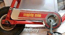 Vintage Mini Bike Murray Mighty Mini KRATE Bicycle Schwinn Chopper Super Rare