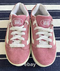 Vintage Pink Vans Plat Skool 90s Platform Shoes Womens Size 3 SUPER RARE