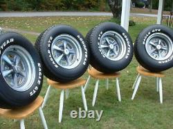 Vintage Pontiac Rally II Mag Wheel Goodyear Eagle GT Tire Center Cap 15x7 15x8 2