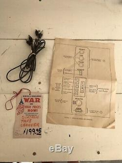 Vintage QATRON STEREO 48H Eight 8 Track Changer Player SUPER RARE