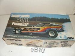 Vintage Rare! Aurora 1/16 Super Scale Vega Funny Car! Voodoo Vega