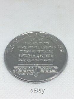 Vintage STAR WARS POTF Coin YAK FACE 1984 SUPER RARE