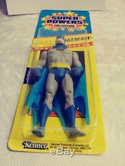 Vintage Sealed Kenner Super Powers Batman Figure RARE