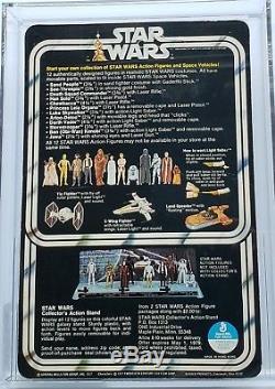 Vintage Star Wars 12 Back-a C-3po Afa 85 (80/85/85) Unpunched! Super Rare Moc
