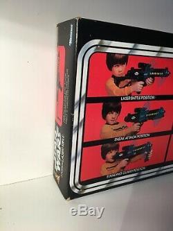 Vintage Star Wars 3 Position Laser Rifle Early Releaee Kenner Super Rare