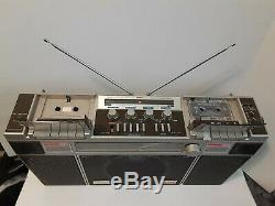 Vintage Stereo Welton Japan 8070 Super Woofer Boombox Ghetto Blaster Rare