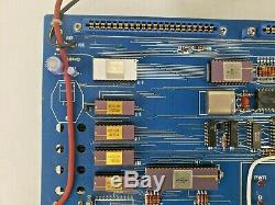 Vintage Super Rare 1977 RCA Cosmac VIP Computer Kit 18S022 PCB CDP1802CD