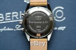 Vintage Super Rare Eberhard Mareoscope Chronograph