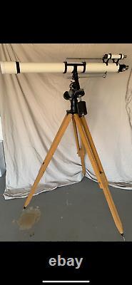 Vintage Unitron 4 Equatorial Refractor Telescope Model 152 / SUPER RARE