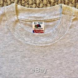 Vintage Vtg Super Rare 1993 Nirvana In Concert Crew T Shirt