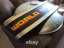 Vintage World of Nintendo Globe sign NES RARE AUTHENTIC SUPER MARIO BROS 1991
