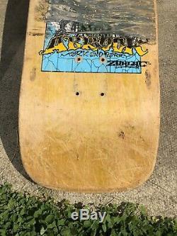 Vintage Zorlac Abrook Skateboard, Super Rare, old school board. Reduced