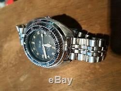 Vintage original rare certina ds2 super PH 1000m diver cult watch automatic used