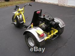 Vintage very rare three wheeler Carl Heald Super Tryke (Trike)